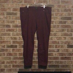 Forever 21+ Burgundy Pants